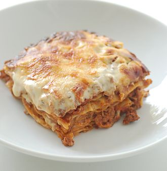 Lasagne - Baked meat lasagne