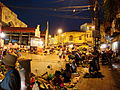 Lascar Traditional street market and Dong Xuan Market by night (4550974092).jpg