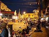 ドンスアン市場付近の様子