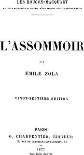 <i>LAssommoir</i> novel by Émile Zola