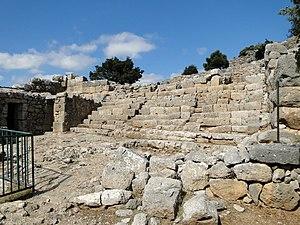Dorians - Dorian site of Lato on the island of Crete