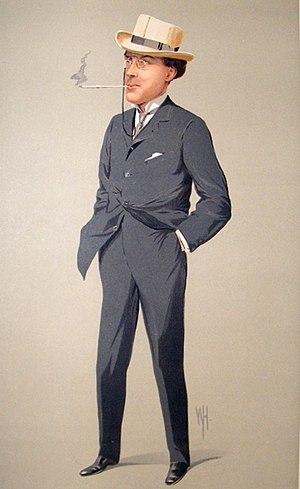 Laurence Sydney Brodribb Irving - Laurence Irving as depicted in Vanity Fair in 1912