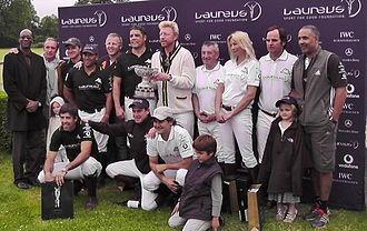 Ham Polo Club - Laureus Sporting Foundation Presentation with Boris Becker
