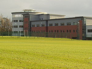Lawnswood School - Image: Lawnswood School, Leeds geograph.org.uk 98586