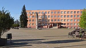 Lazdijai - Image: Lazdijai (Łoździeje) main square