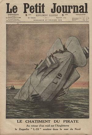 Zeppelin LZ 54 - Image: Le Petit Journal 27 2 1916