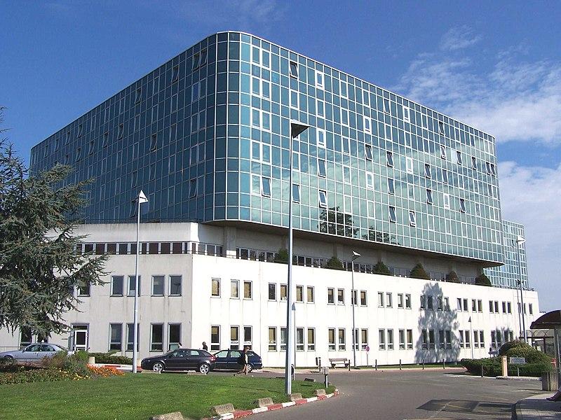 Centre hospitalier de Versailles André Mignot, au Chesnay (Yvelines, France)