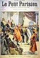 Le petit parisien 29 juin 1902 - Stephen Pichon investiture Bey de Tunis.jpg