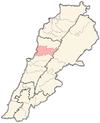 Lebanon districts Keserwan.png