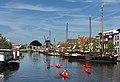 Leiden, zicht op Kort Galgewater vanaf Prinsessekade foto13 2017-06-11 10.24.jpg