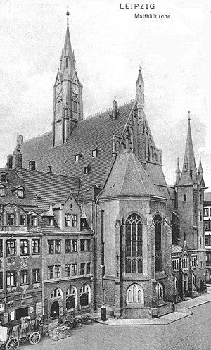St. Matthew, Leipzig - Image: Leipzig Matthäikirche