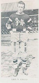 Leo Lyons (American football) American football player, coach, executive