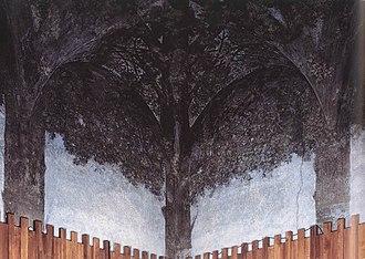Sala delle Asse - Image: Leonardo da vinci, sala delle asse