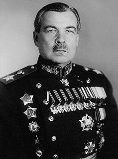 Leonid Govorov Soviet marshal