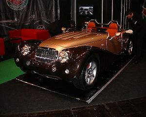 Mielec - Produced in Mielec Leopard 6 Litre Roadster