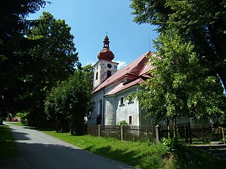 Lesná (Tachov District) - St Nicholas Church
