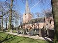 Leur (Wijchen) van Balverenlaan 4 begraafplaats Gem.Mon. met kerkje RM.JPG