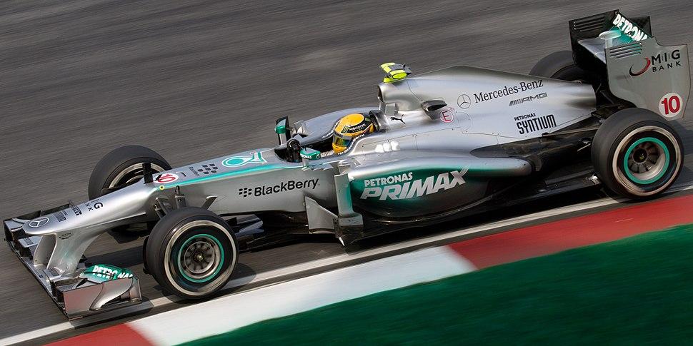 Lewis Hamilton 2013 Malaysia FP2 2