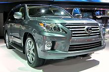 Second Facelift Lexus Lx 570