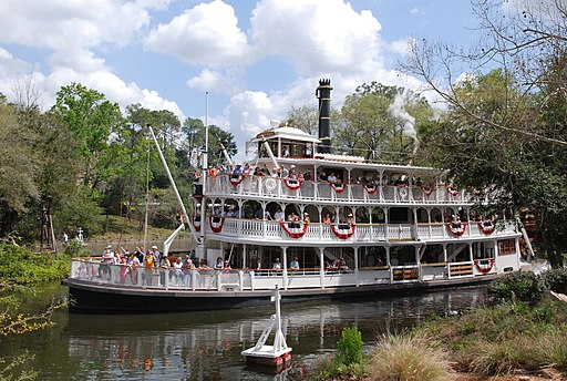 Liberty Belle Riverboat by hyku