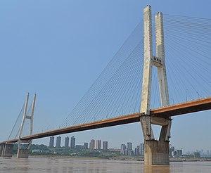 Lijiatuo Yangtze River Bridge - Image: Lijiatuo Yangtze River Bridge