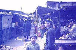 Villa El Salvador - Image: Lima barrios El Salvador Peru 1975 13 People