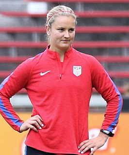 Lindsey Horan association football player