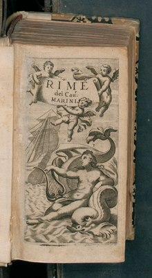 Rime del cav. Marini, 1674
