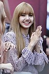 Lisa Manoban at a Black Pink fansign event at COEX's Live Plaza in Seoul on August 19, 2018 (3).jpg
