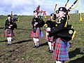 Lisbeg Pipe Band members - geograph.org.uk - 1225005.jpg