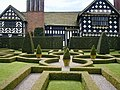 Little Moreton Hall garden - geograph.org.uk - 433632.jpg