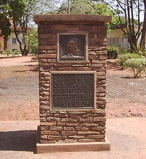 Livingstone, Zambia - Memorial to David Livingstone