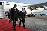 Llegada de Cyril Ramaphosa, presidente de Sudáfrica (31168671897).jpg