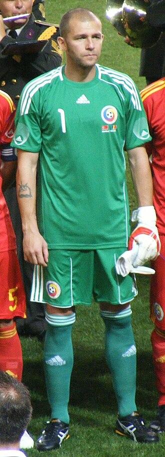 Bogdan Lobonț - Lobonț with Romania in 2010