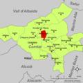 Localització de Benimarfull respecte el Comtat.png