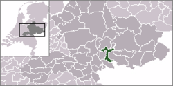 Location of Zevenaar