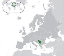 Description de l'image Location Serbia Europe.png.