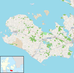 Location map Denmark Lolland.png