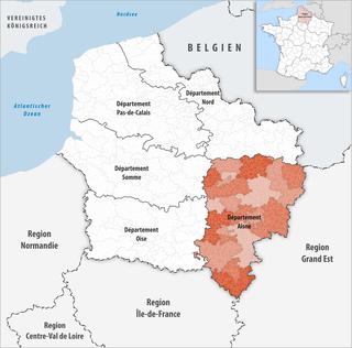 Lage des Aisne