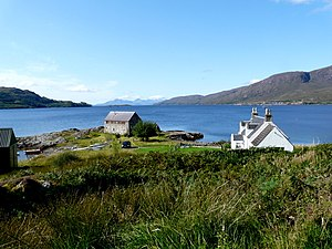 English: Loch Kishorn