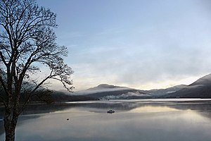 Ardgartan - Image: Loch Long at dawn from Ardgarten campsite geograph.org.uk 1658026
