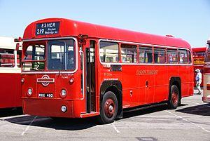 London Transport bus RF503 (MXX 480), 2010 North Weald bus rally.jpg