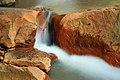 Long exposure of Douglas Falls, West Virginia (5516098537).jpg