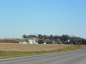 Longtown, Missouri village from Highway 61.jpg