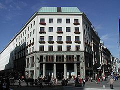 Looshaus Michaelerplatz, Wenen Adolf Loos