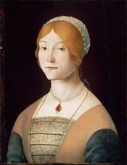 Portrait of a Woman with a Pearl Necklace