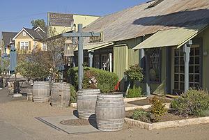 Los Olivos, California - Shops in Los Olivos