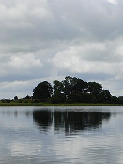 Lough Kinale Lake on the River Inny, Ireland