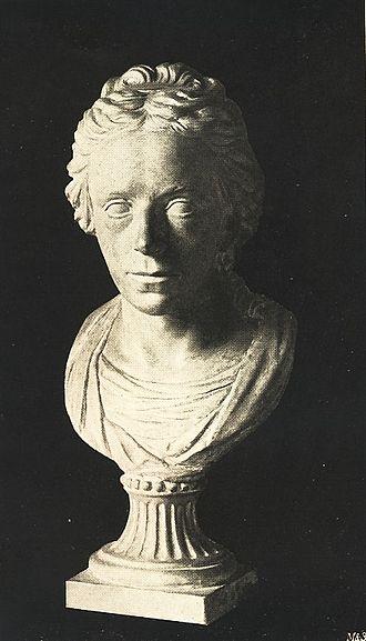 Friedrich Schiller's skull - Bust of Luise von Göchhausen
