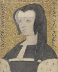 Louise van Savoye (1467-1531/32), hertogin van Angoulême, moeder van Frans I